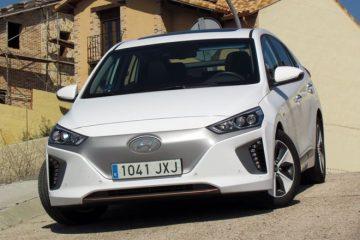 Hyundai Ioniq EV 2018 prueba