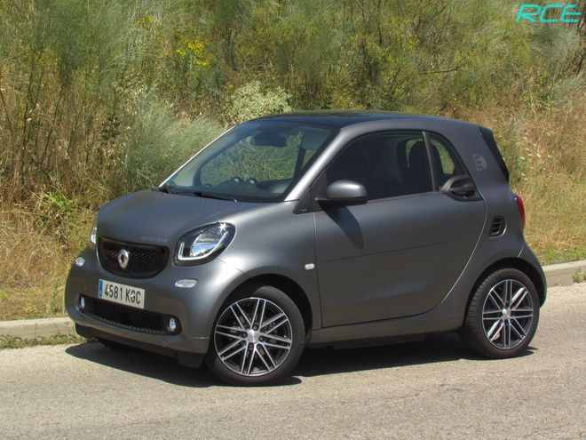 Smart Fortwo Electric 2018 prueba