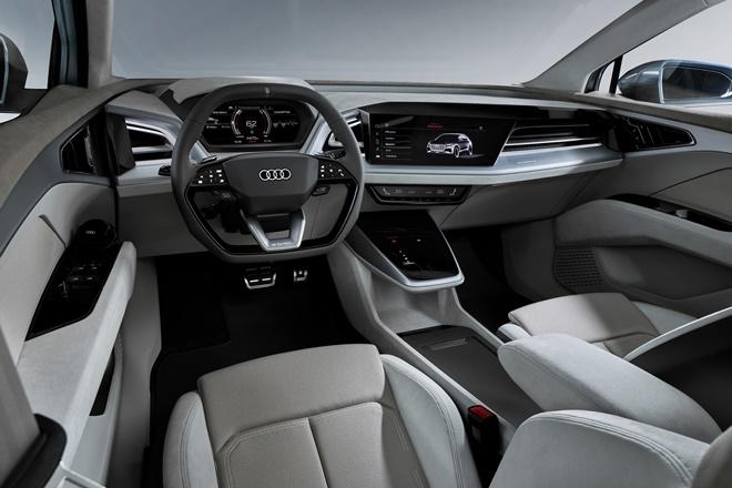 Audi Q4 e-tron interior 2019