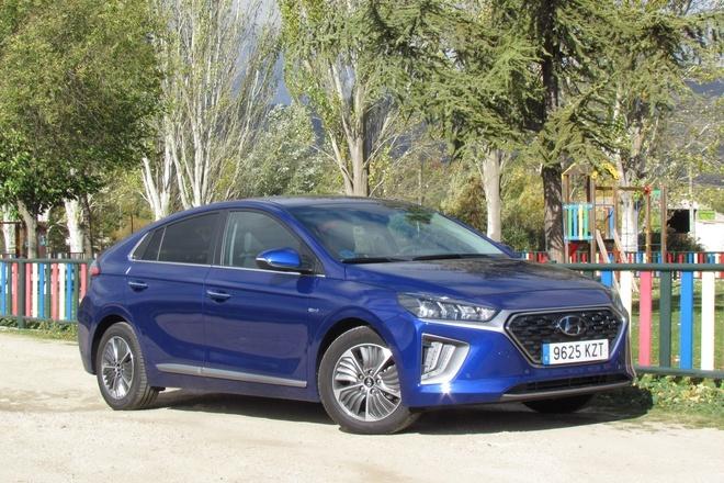 Hyundai Ioniq 1.6 GDI 105 PHEV DCT2019 prueba