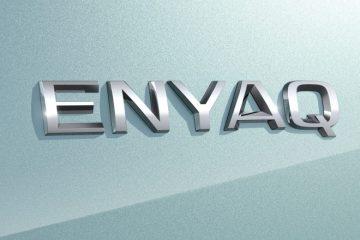 logo skoda enyaq